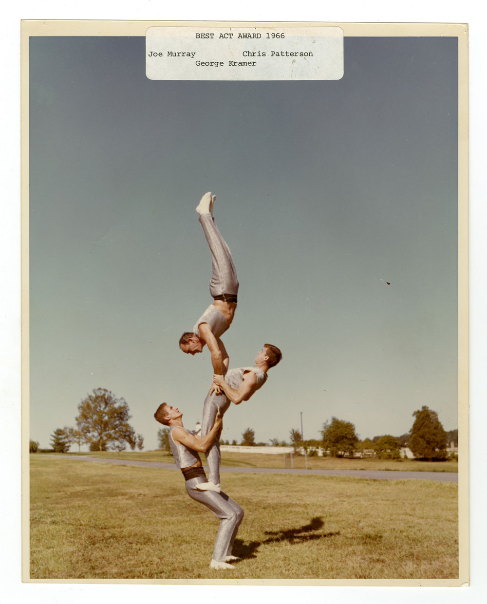 1966 - Men's Triples Balancing