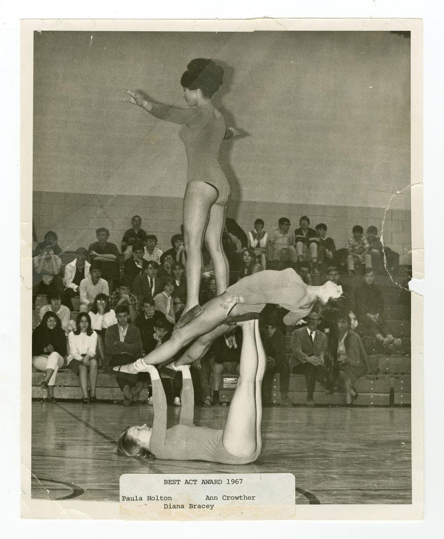 1967 - Women's Triples Balancing