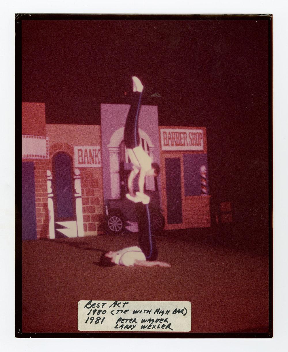 1980 & 1981 - Men's Doubles Balancing