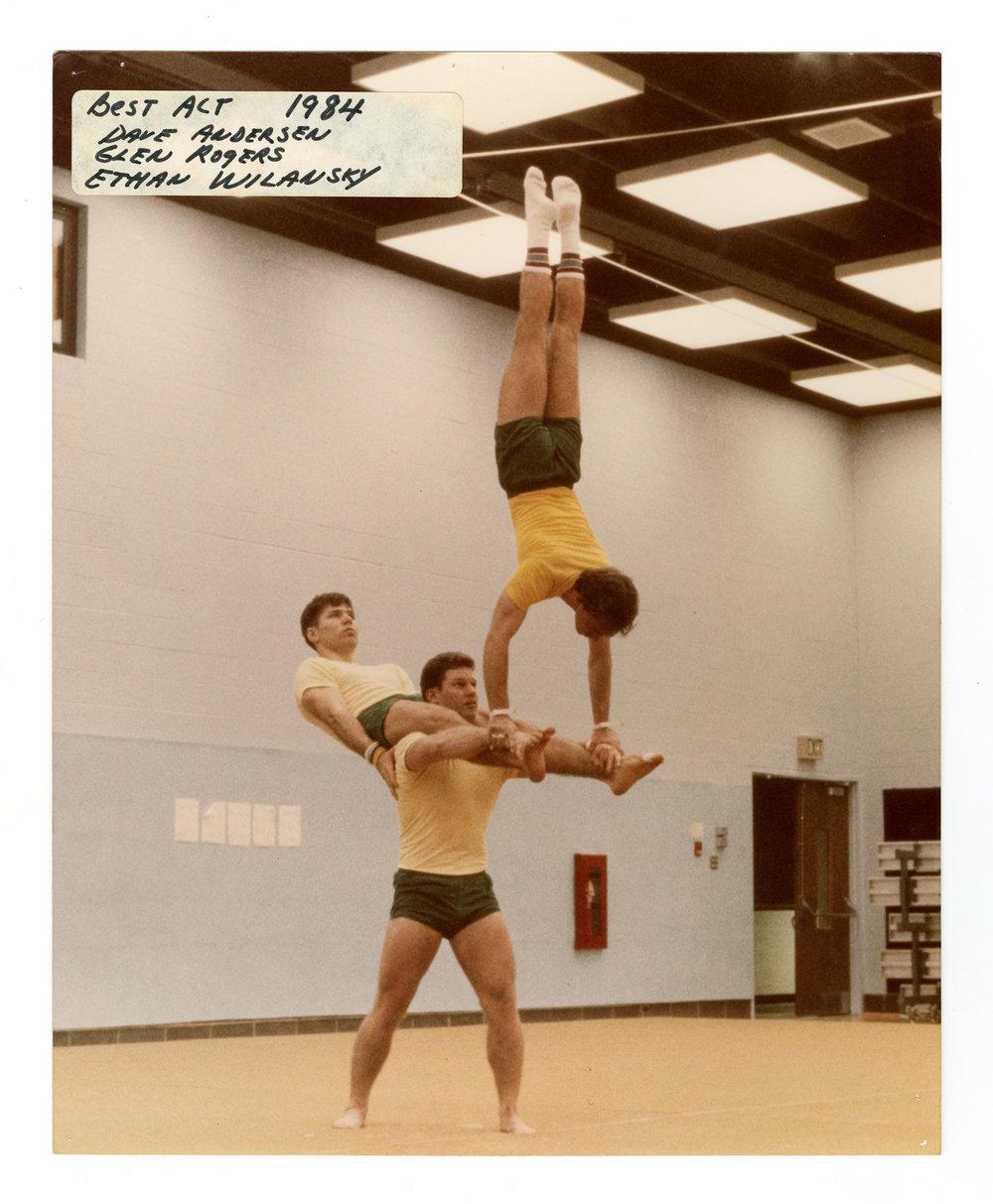 1984 - Men's Triples Balancing
