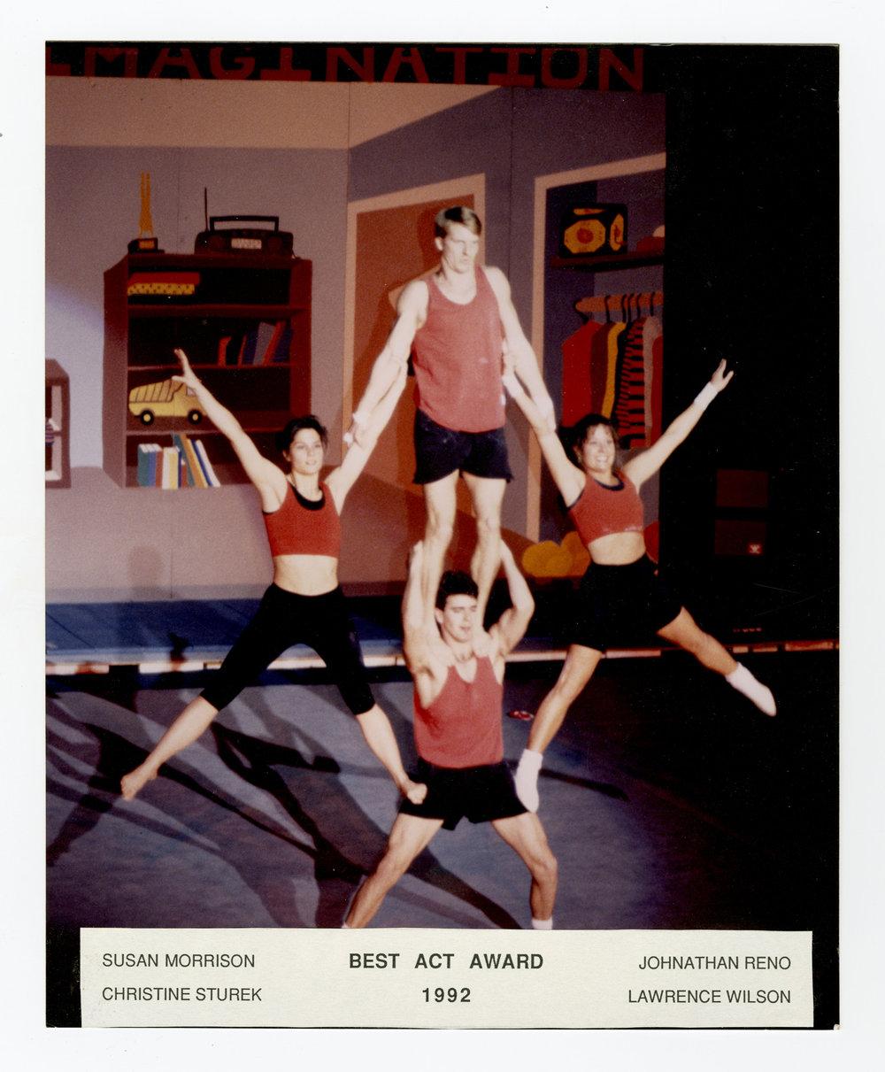 1992 - Mixed Quads Balancing