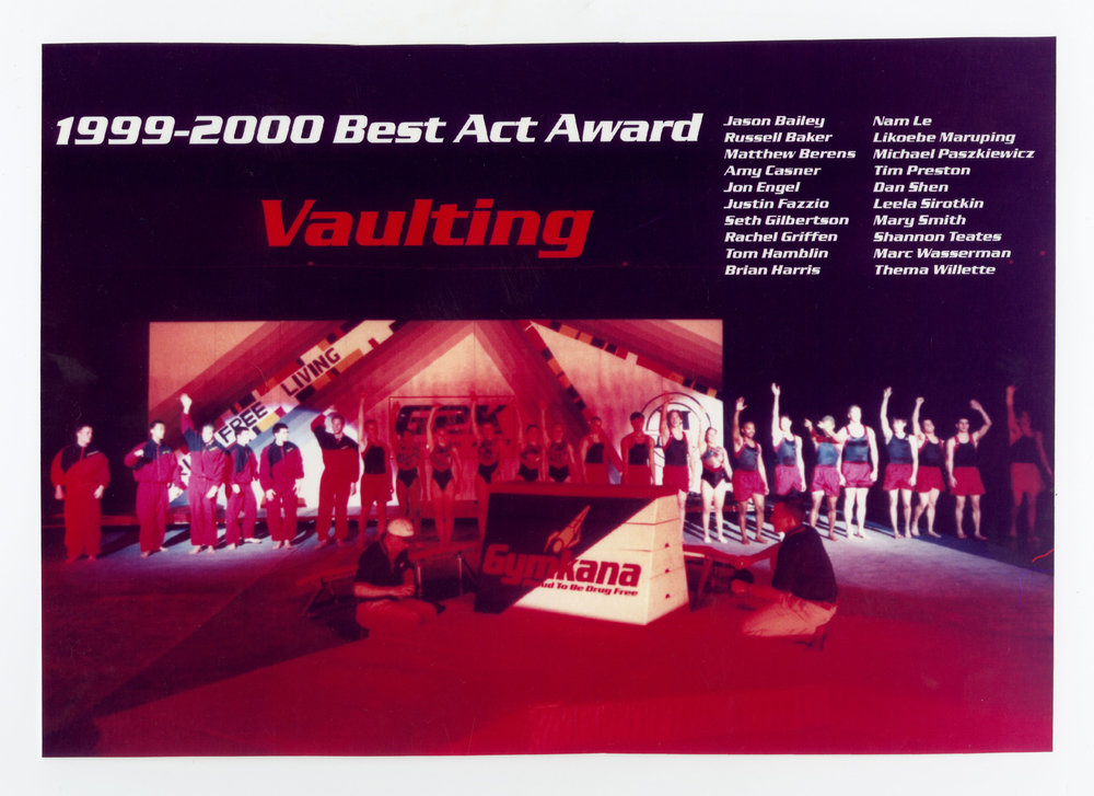 2000 - Vaulting