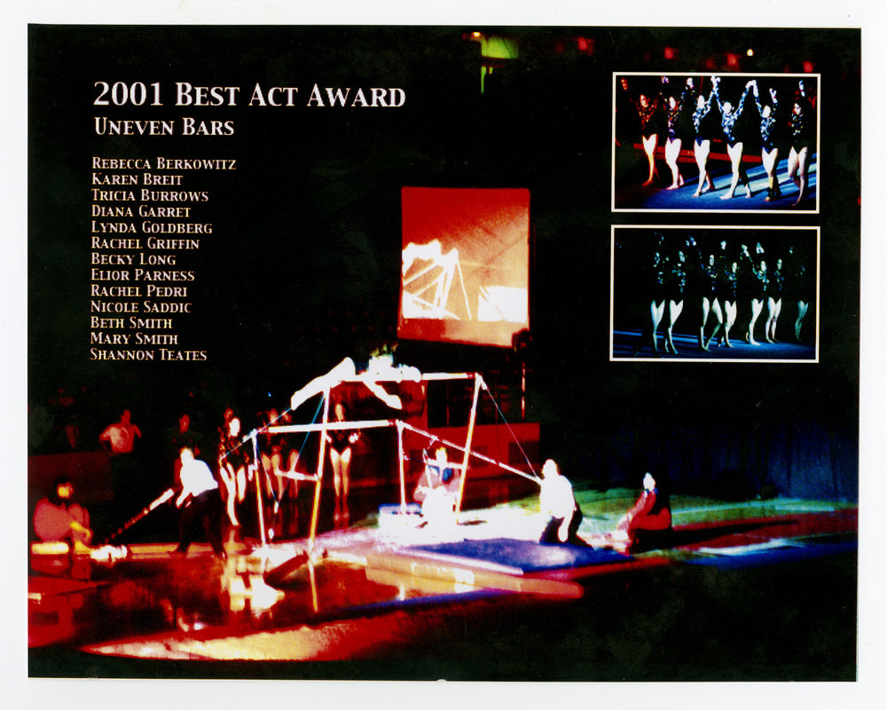 2001 - Uneven Bars