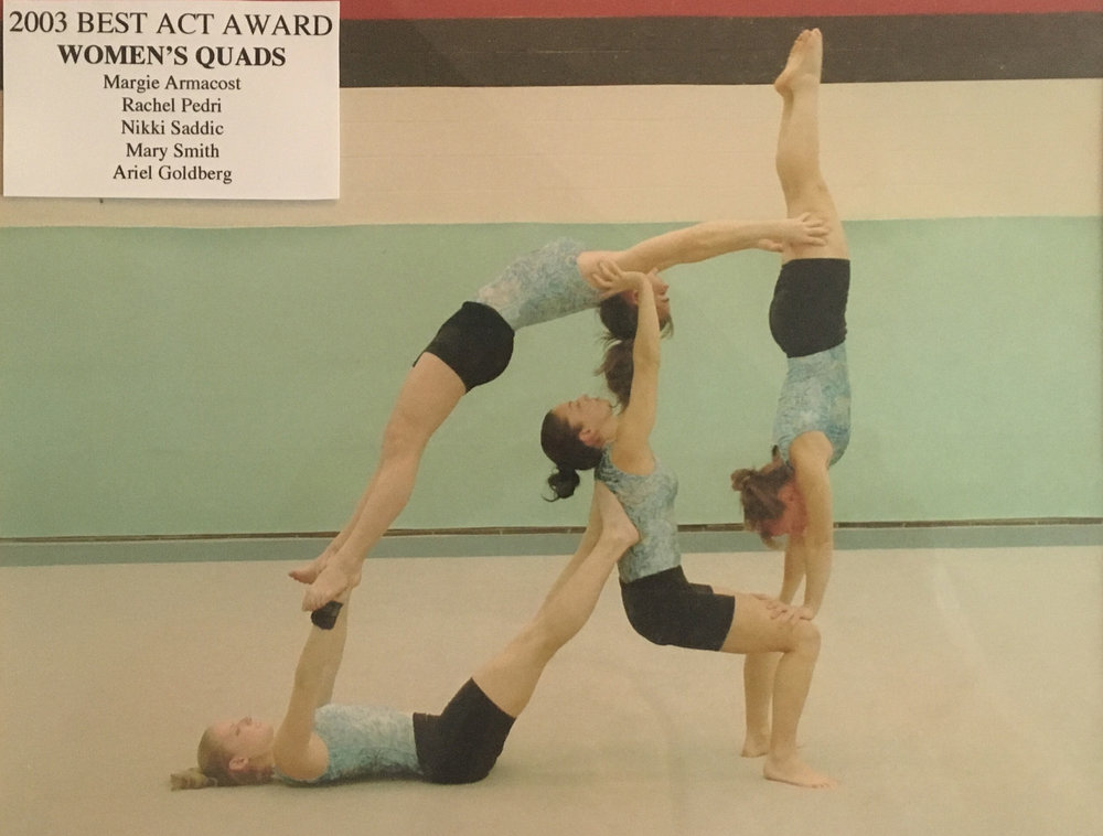2003 - Women's Quads Balancing