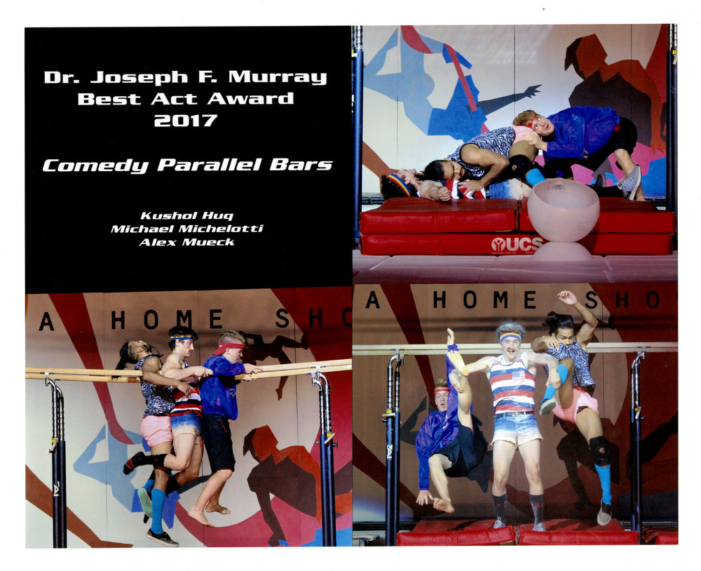 2017 - Comedy Parallel Bars