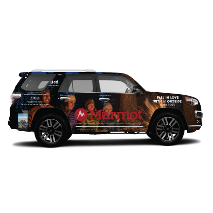 Road Tour Car Design - Integrated Marketing Campaign