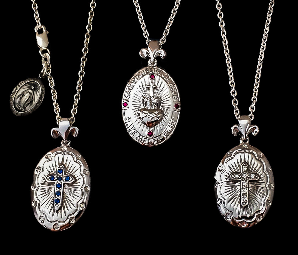 cara custom lockets name gallery pendants