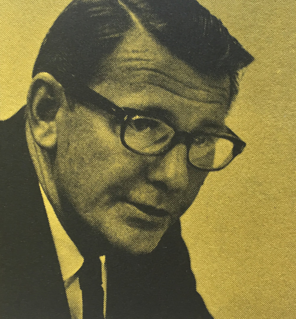 Cal Hawthorne, Suffolk Sun Advertising Director, 1966