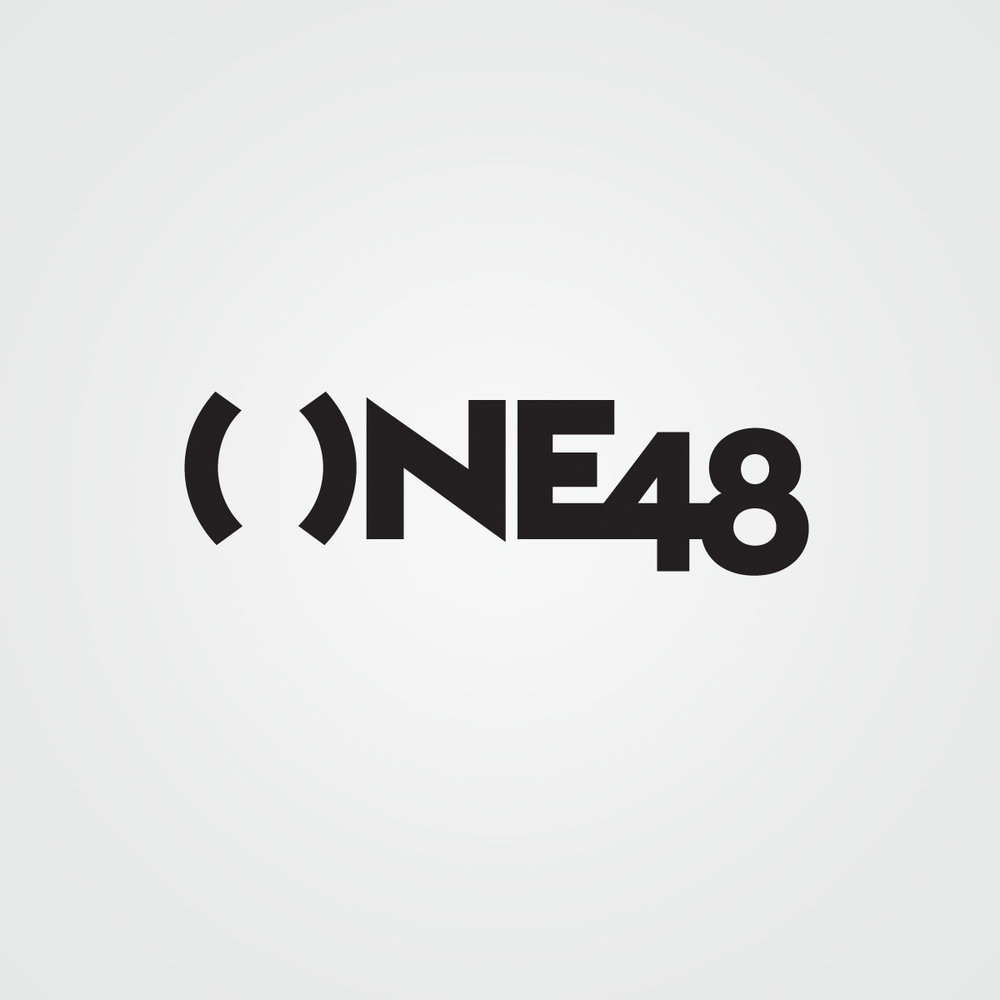 Brandmark / logo design for One48, a residential real estate project in NYC