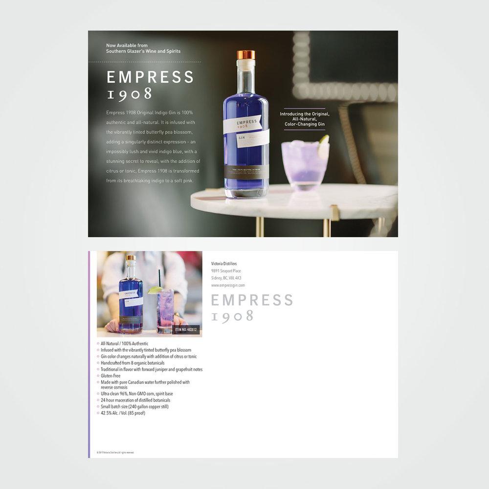 Client: Empress 1908 Gin