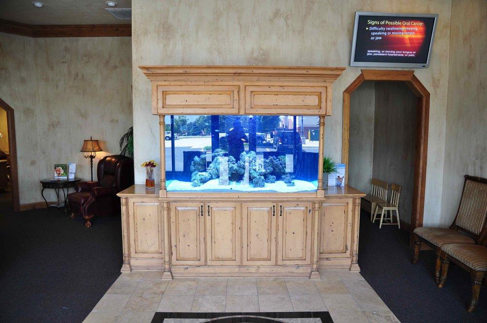 Aquarium at Cornerstone Dental Care