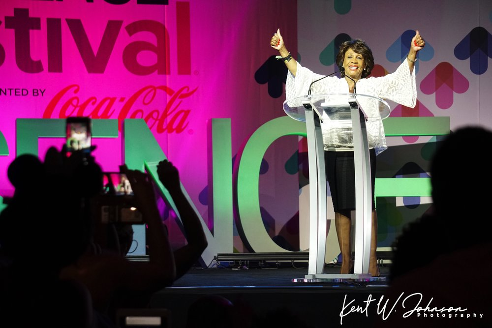 The Honorable Maxine Waters
