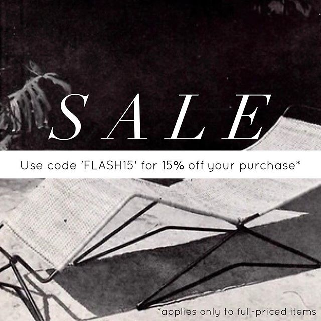 Flash Sale! 💥 Enjoy 15% off your entire purchase when you enter code 'FLASH15' at checkout. Offer applies only to full-priced items and expires this Friday, May 5th. Shop now 👉🏼 loneluster.com/shop
