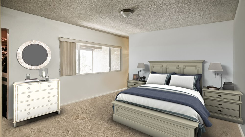 VIRTUAL CLEAN OUT WITH VIRTUAL STAGING