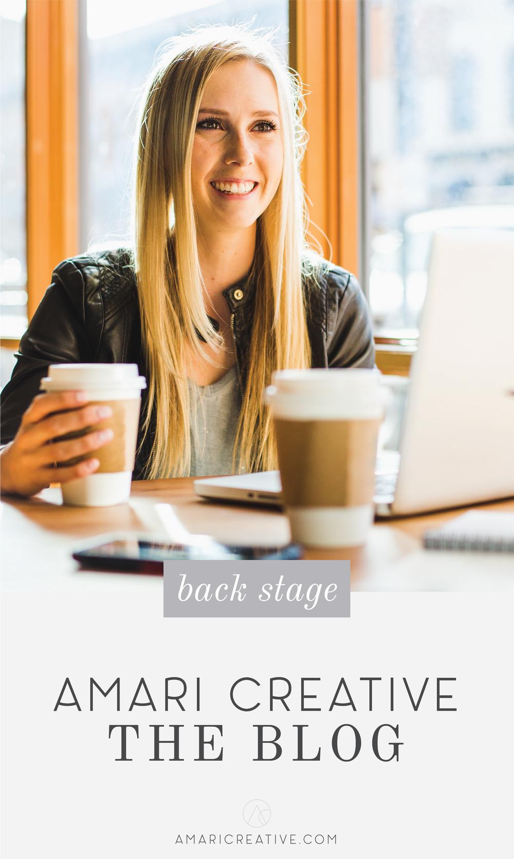Welcome to the Amari Creative Blog!