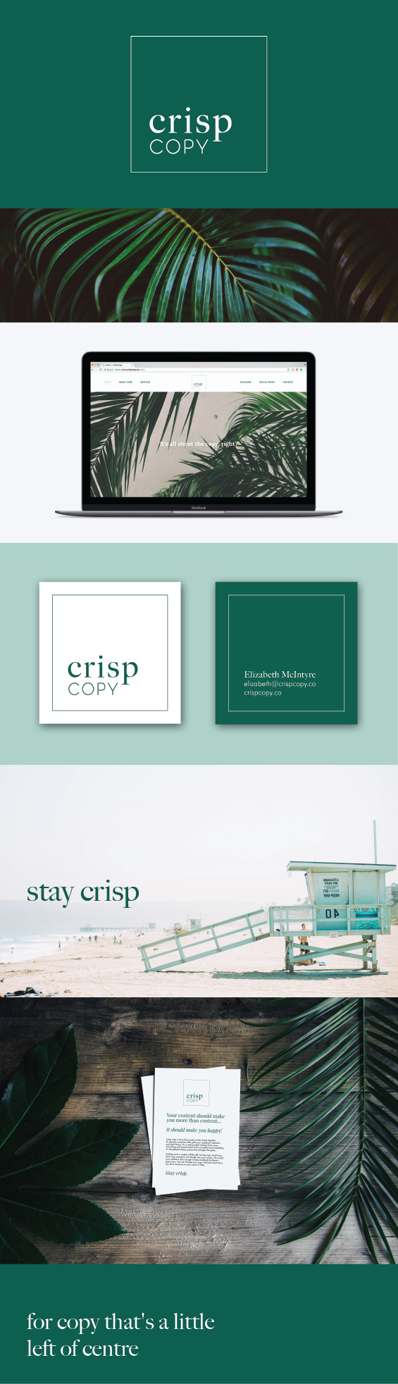 Crisp Copy Brand Design by Amari Creative