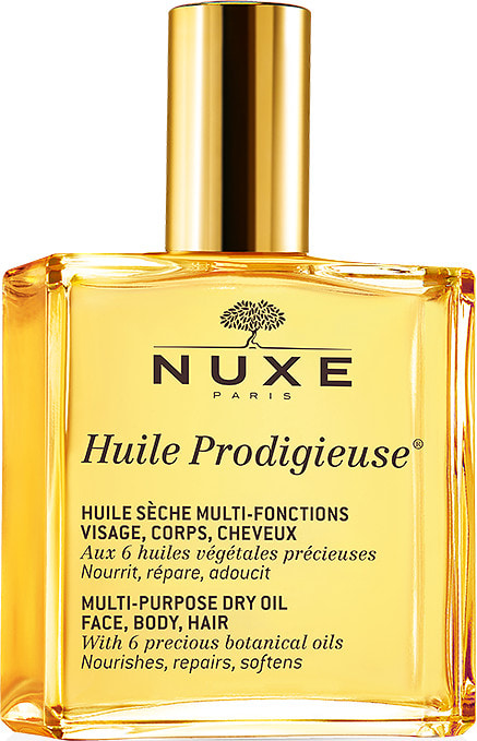 Nuxe - Dry Oil Huile Prodigieuse - With the NUXE Dry Oil you get a Super Car for the Price of a Fiat 500. NUXE acts as a hair oil, facial moisturiser, eye make-up remover and body lotion all in one handy spray bottle. For £17.00 you get around six products for the price of one. With the gorgeous fragrance, chic packaging and luxurious blend of oils, NUXE makes you feel pampered, plumped and perfumed with every use. Look out for the 'Shimmer' edition which has flecks of sparkly goodness in it for glistening beach ready limbs.