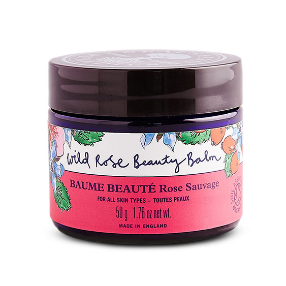 - The Wild Rose Beauty Balm is the perfect product with a list of uses longer than your arm. It can be used as a cleanser, face mask, nail conditioner as well as a lip balm; to name just a few of its uses. As it contains, rose hip seed oil it is an amazing remedy for scars, and will miraculously heal cuts while reducing redness. - RRP £40.00