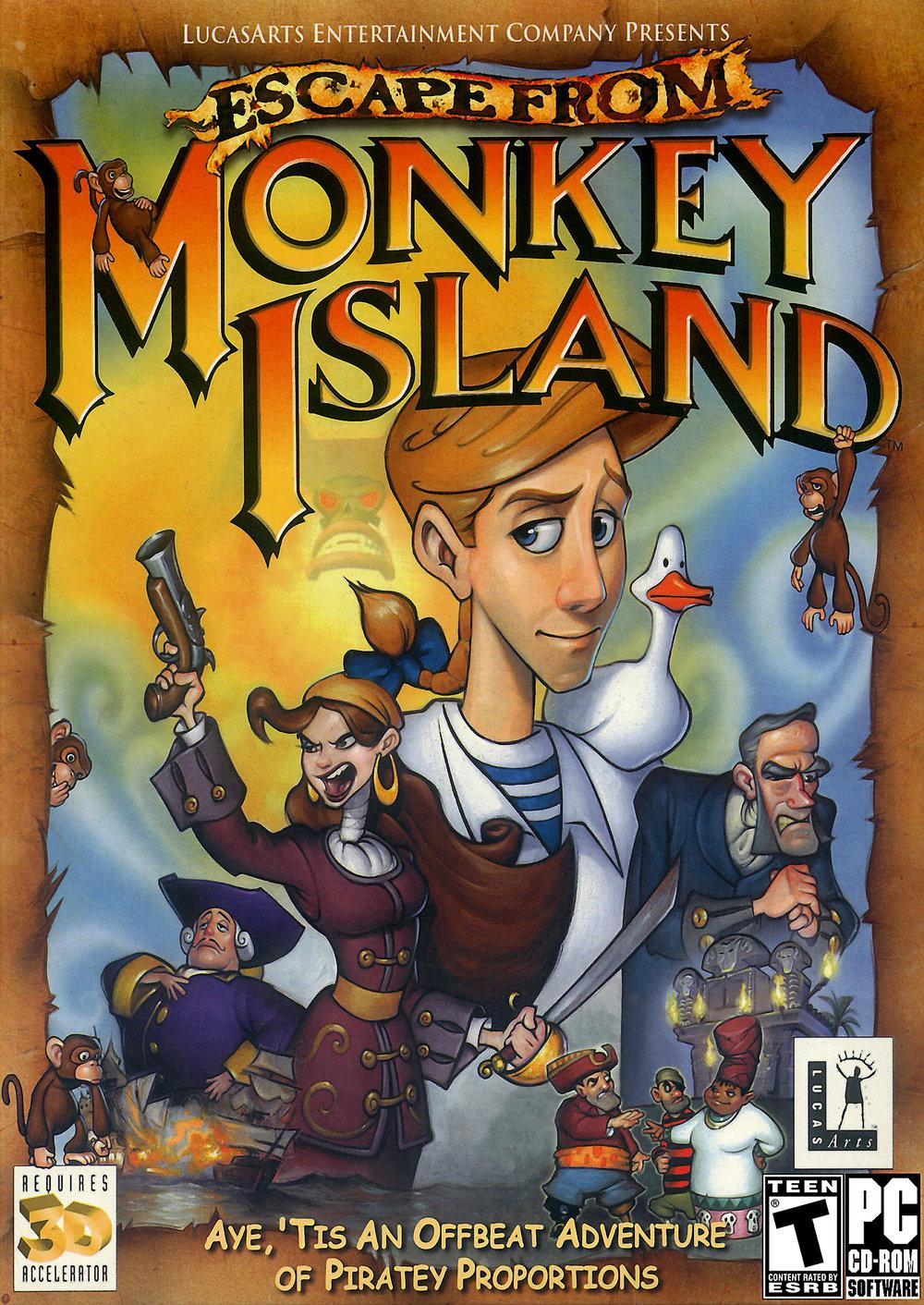 rom monkey island