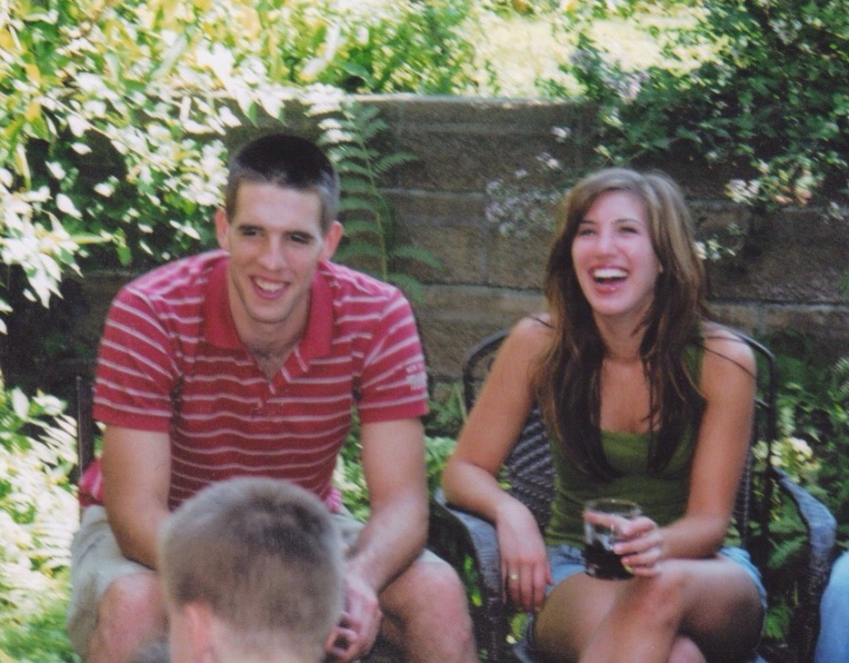 Back when I was still in high school having a laugh with my boyfriend (snagged him up pretty quick).