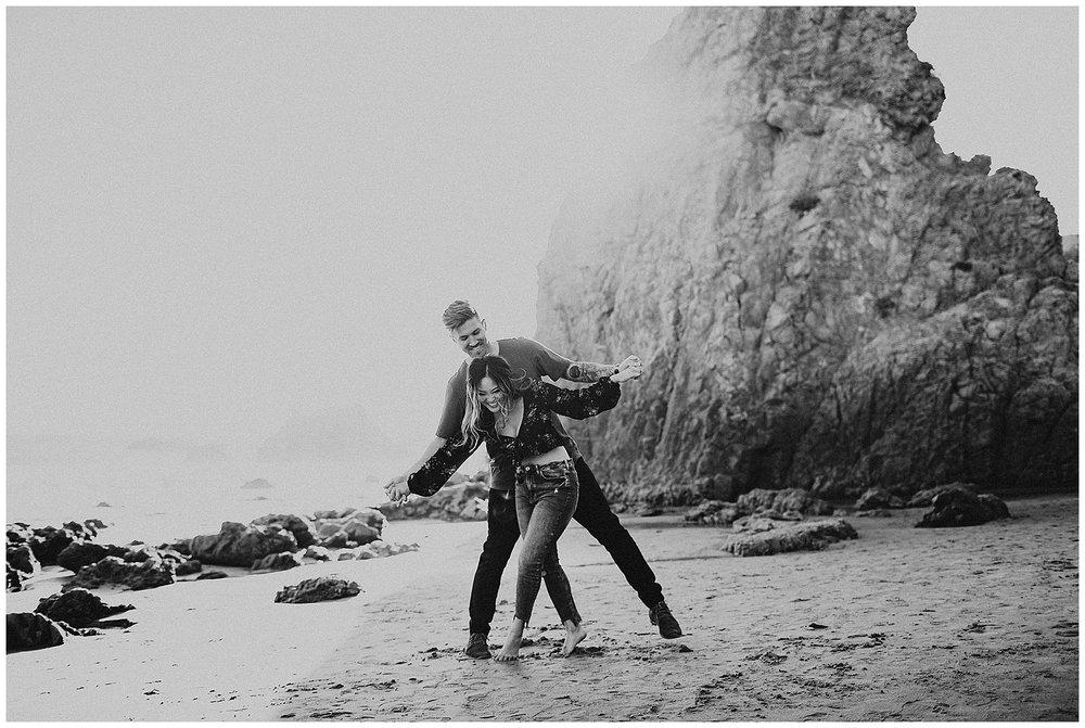 malibu beach cliff engagement session_0013.jpg