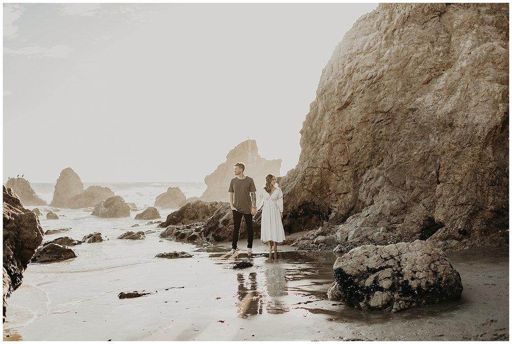 malibu beach cliff engagement session_0017.jpg
