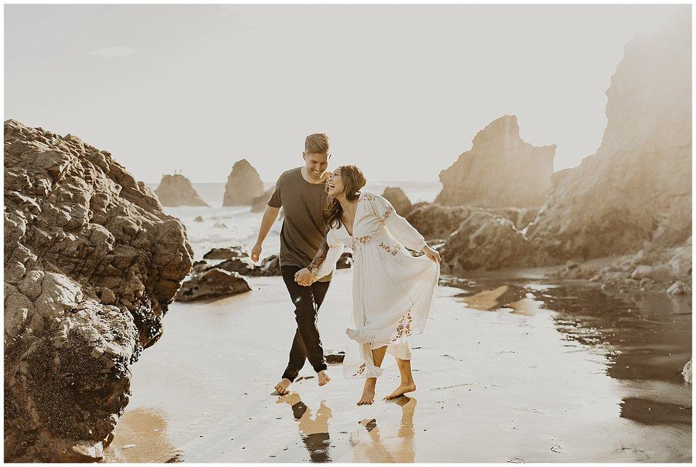 malibu beach cliff engagement session_0019.jpg