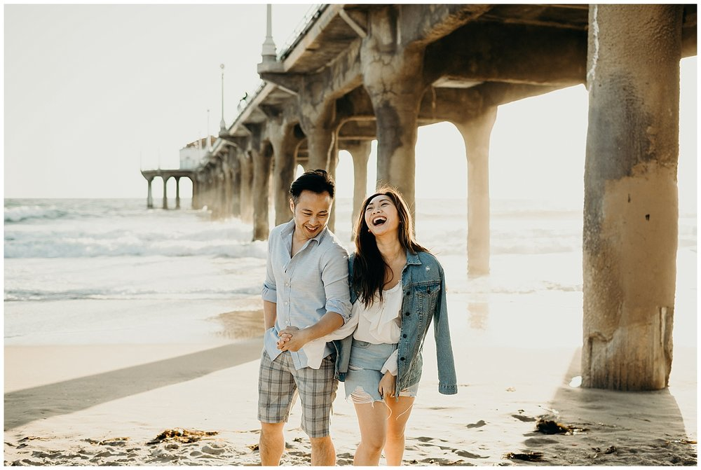 manhattan beach pier beach engagement_0002.jpg