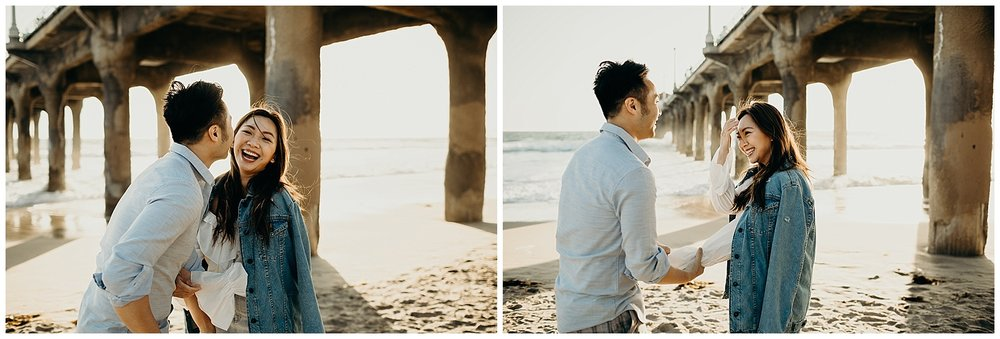 manhattan beach pier beach engagement_0003.jpg