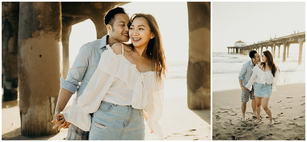 manhattan beach pier beach engagement_0008.jpg
