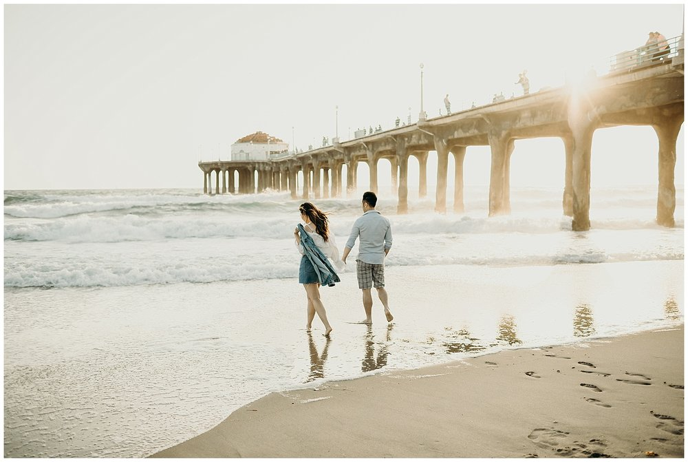 manhattan beach pier beach engagement_0009.jpg