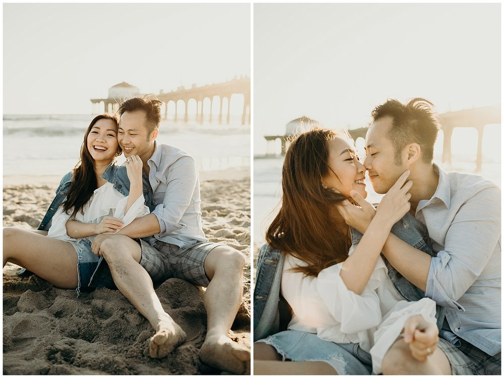 manhattan beach pier beach engagement_0012.jpg