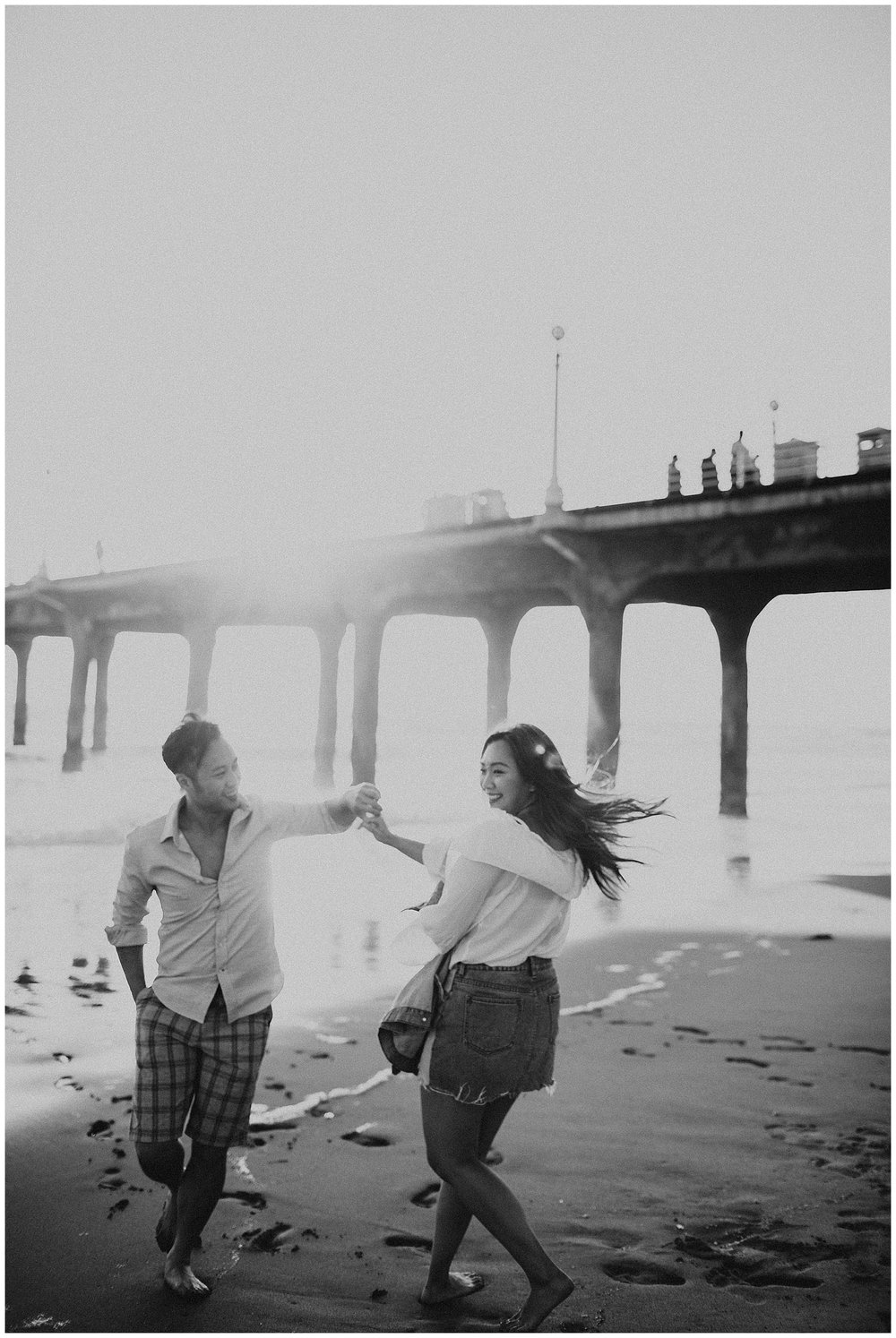 manhattan beach pier beach engagement_0011.jpg