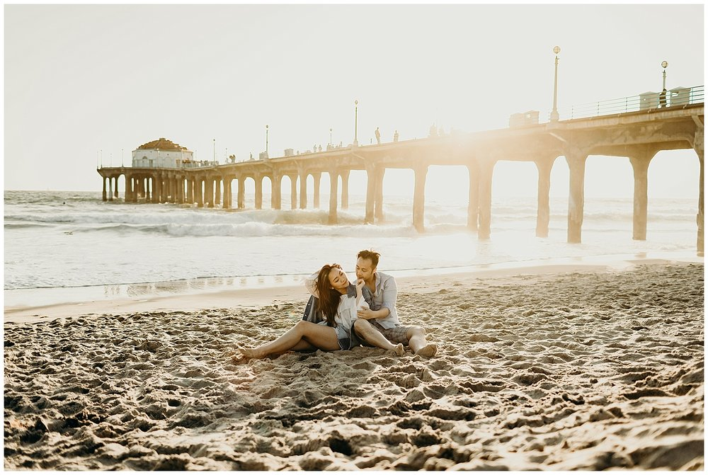 manhattan beach pier beach engagement_0015.jpg