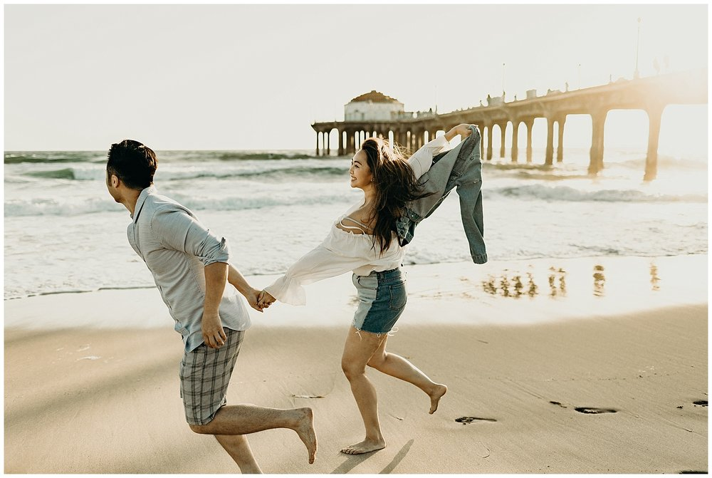 manhattan beach pier beach engagement_0020.jpg