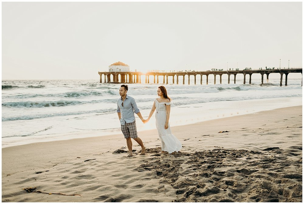 manhattan beach pier beach engagement_0030.jpg