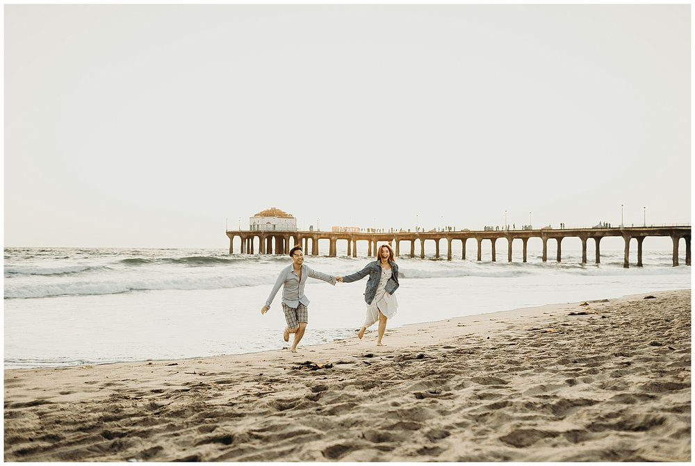 manhattan beach pier beach engagement_0036.jpg