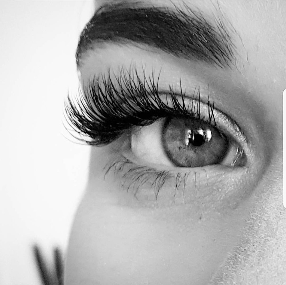 Lashes are the curtains to your soul