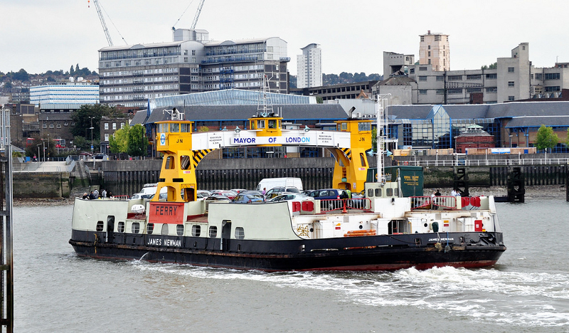 London's last remaining ferry service serving over 2 million passengers a year.