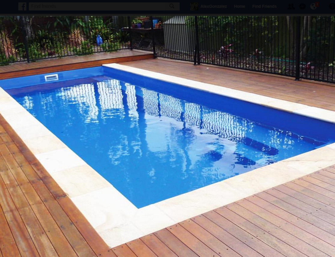 Leisure Rectangle Shape Pools — Lifestyle Fiberglass Pools
