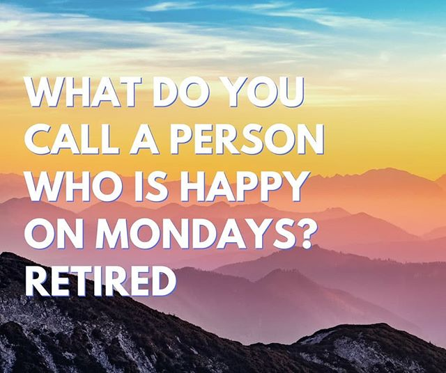 Don't delay!! Contact us today and discover how you can #RetireHappy on Monday and every other day with your #Solo401K. Toll free: 888-909-4760 or retirehappy.com.