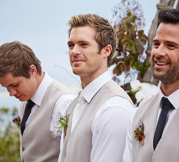 Home and away groomsmen nate