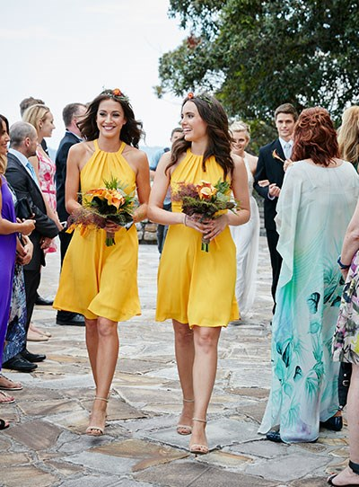 Isabella Giovinazzo home and away bridesmaids