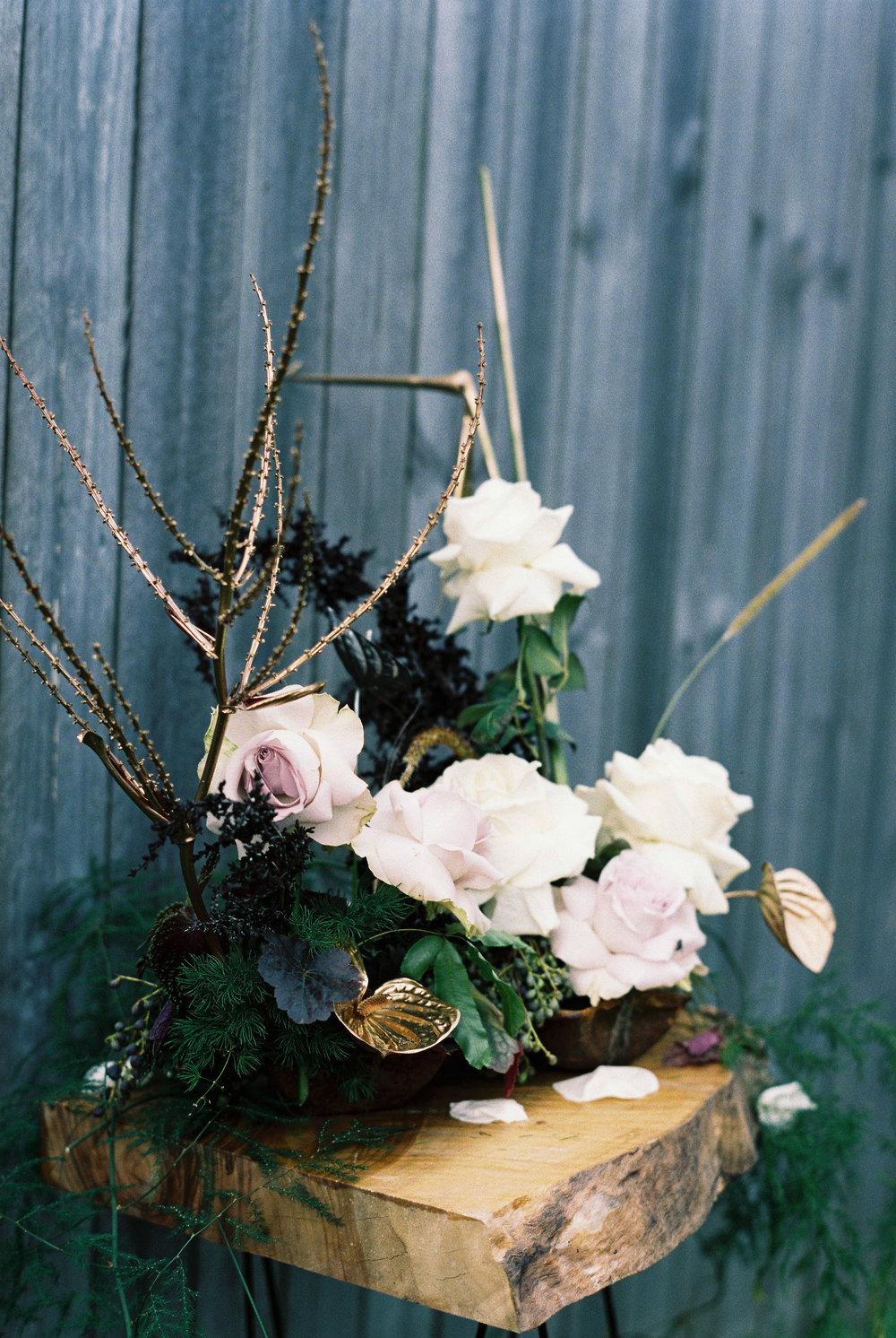 Bloodwood Botanica | Gold Wedding Flowers