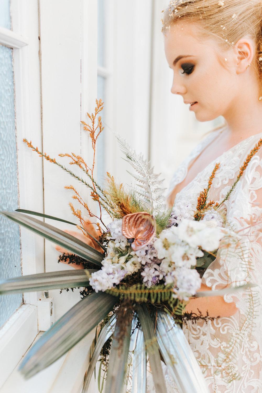 Bloodwood Botanica | Metallic Bridal Bouquet