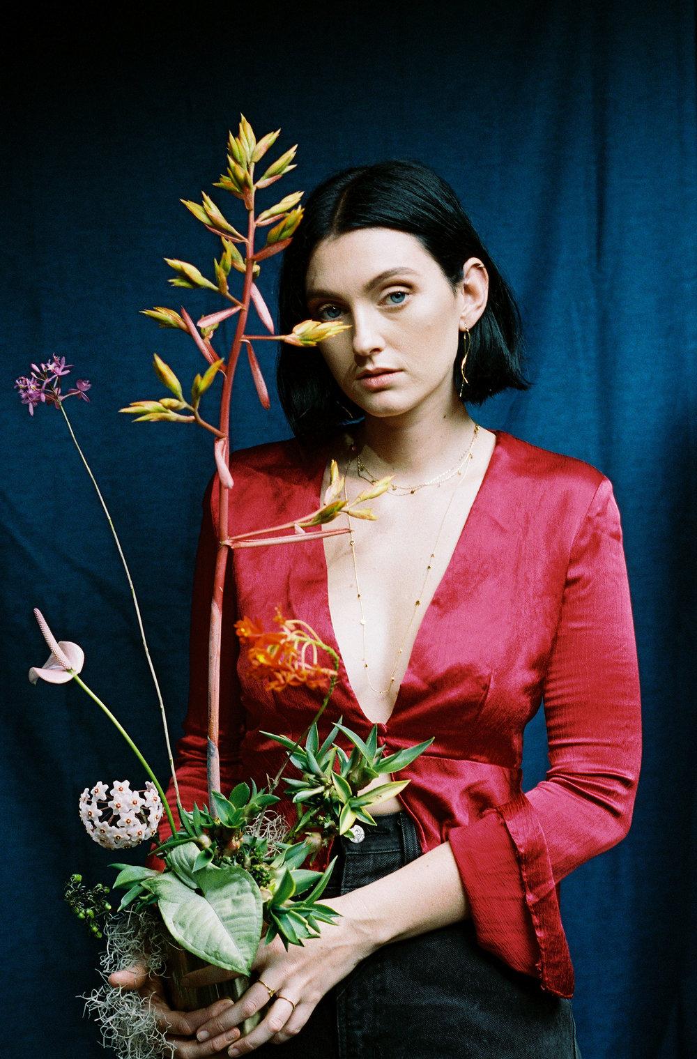 Bloodwood Botanica | Tropical Flowers Portrait