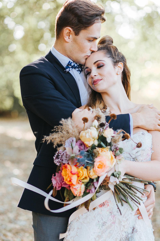 Bloodwood Botanica | Bohemian bright wedding bridal bouquet
