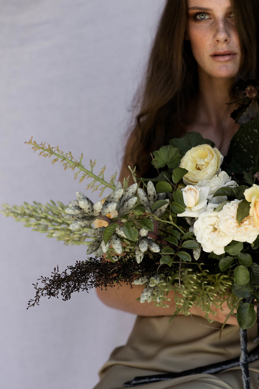Bloodwood Botanica | sculptural bridal bouquet