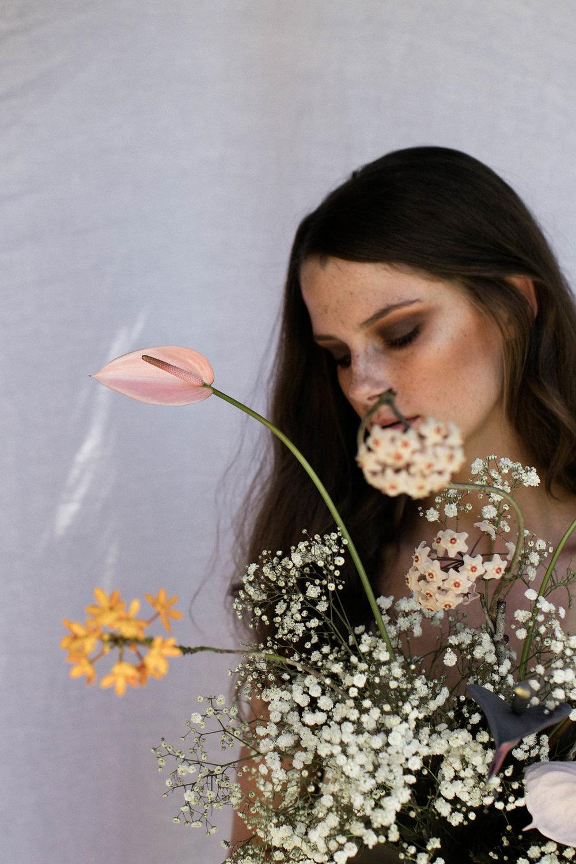 Bloodwood Botanica | blurred sculptural flowers