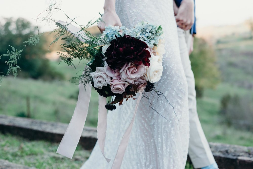 Becs Bridal bouquet
